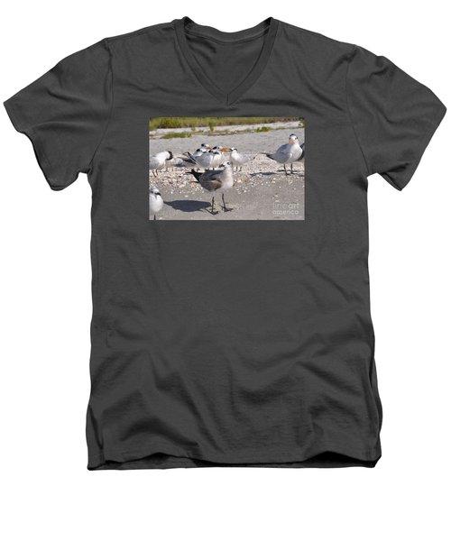 Gagglethon 7 Men's V-Neck T-Shirt