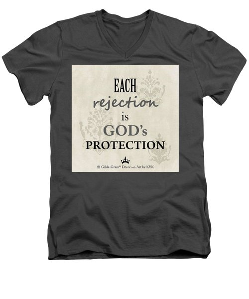 Gilda-gram Decor I Men's V-Neck T-Shirt
