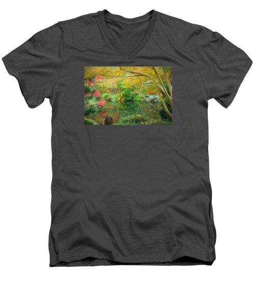 God Is A Designer Men's V-Neck T-Shirt