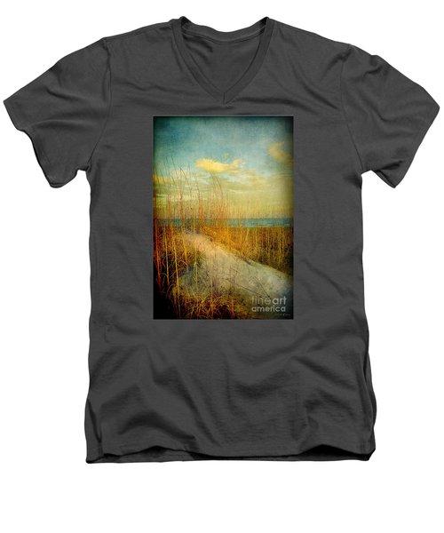 Golden Dune Men's V-Neck T-Shirt