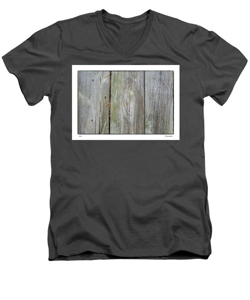 Men's V-Neck T-Shirt featuring the photograph Grain by R Thomas Berner