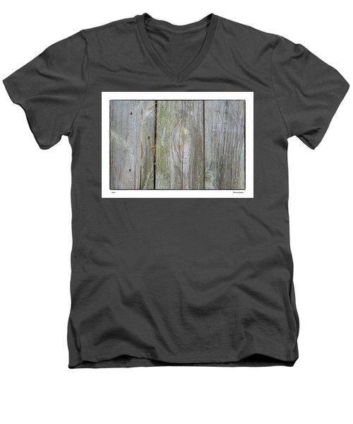 Grain Men's V-Neck T-Shirt by R Thomas Berner