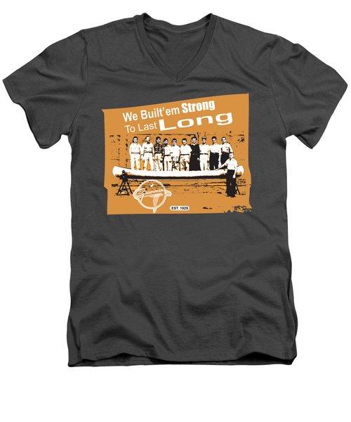 Grumman Canoe Men's V-Neck T-Shirt