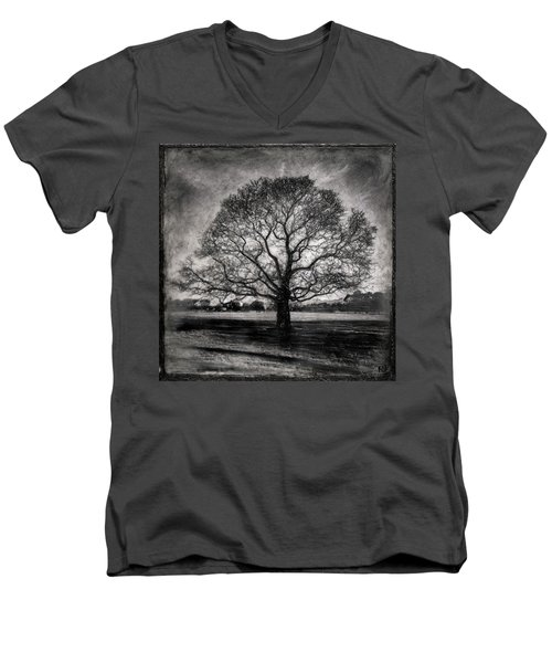 Hagley Tree Men's V-Neck T-Shirt