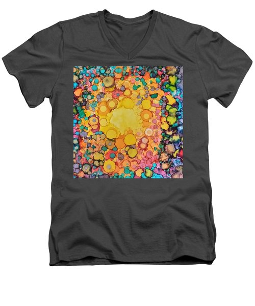 Happy Explosion Men's V-Neck T-Shirt