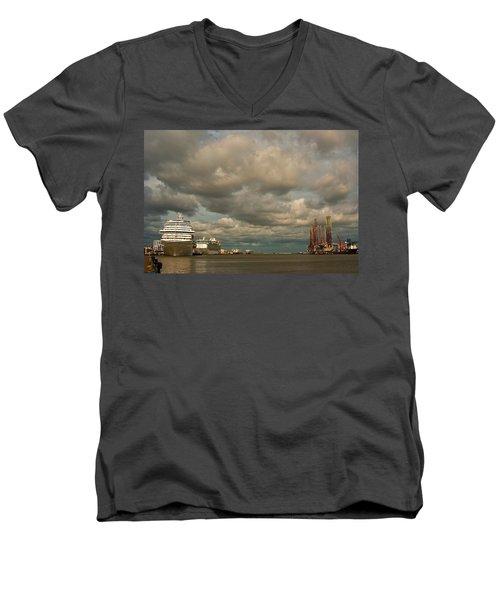Harbor Storm Men's V-Neck T-Shirt