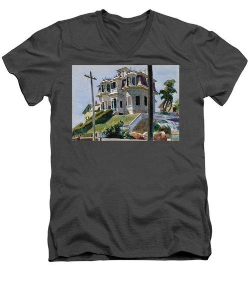 Haskell's House Men's V-Neck T-Shirt