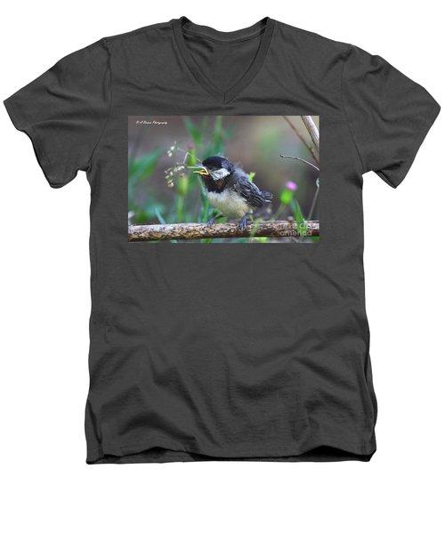 Hello World Men's V-Neck T-Shirt