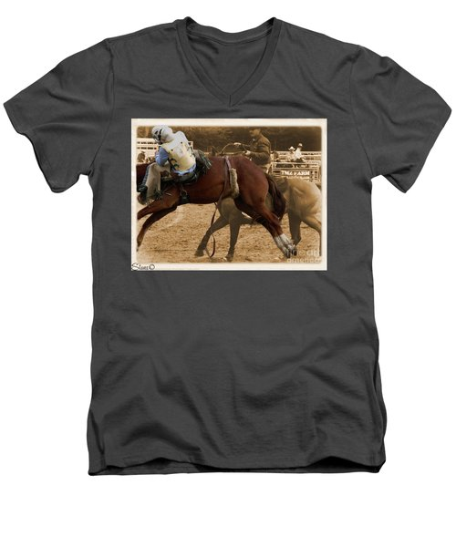Helluva Rodeo-the Ride 6 Men's V-Neck T-Shirt