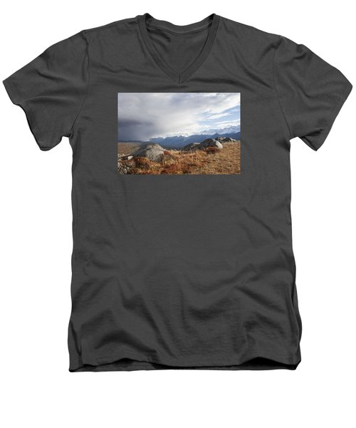 High Country In Fall Men's V-Neck T-Shirt