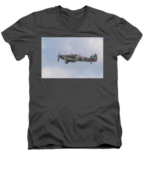 Hurricane Taking Off Men's V-Neck T-Shirt