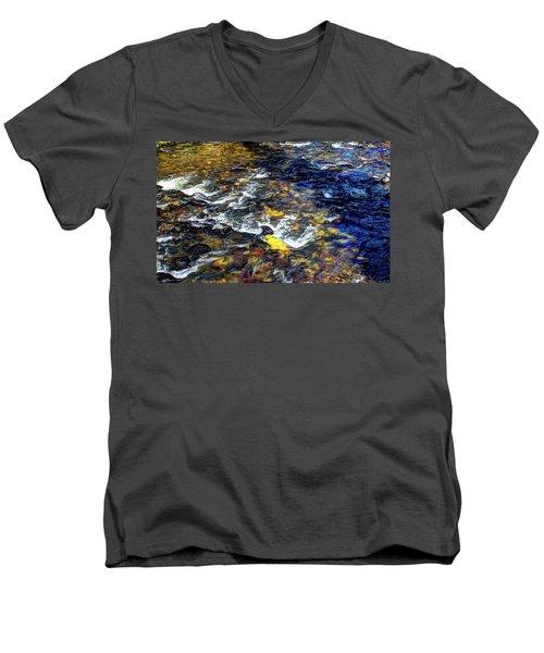 Hyalite Creek Men's V-Neck T-Shirt