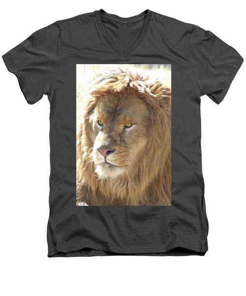 I Am .. The Lion Men's V-Neck T-Shirt