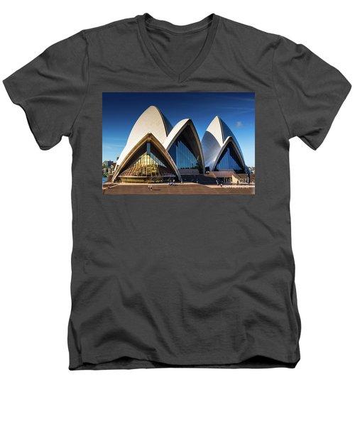 Iconic Sydney Opera House Men's V-Neck T-Shirt