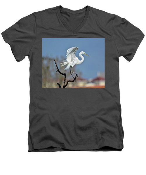 I'll Fly Away Men's V-Neck T-Shirt