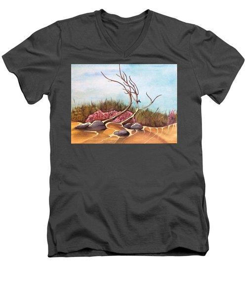 In The Desert Men's V-Neck T-Shirt