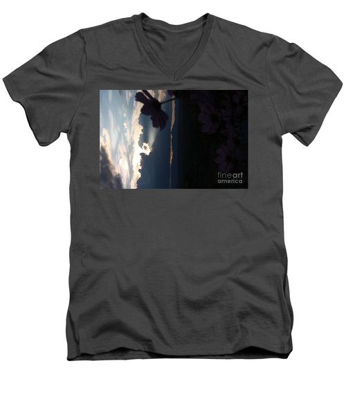 Men's V-Neck T-Shirt featuring the photograph In The Spotlight by Brian Boyle