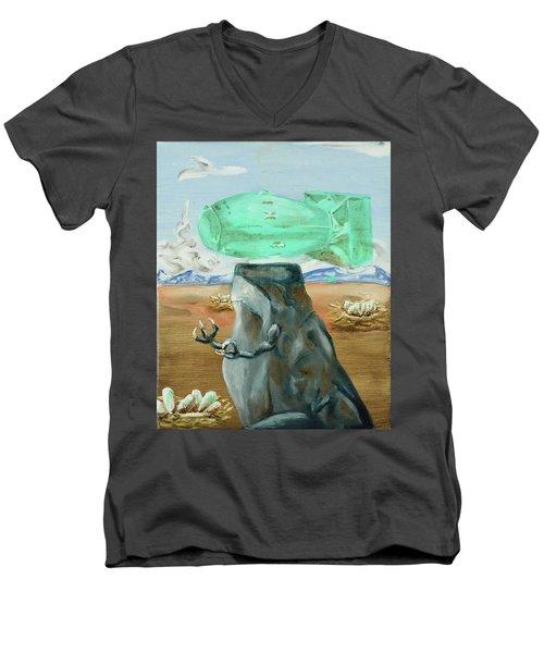 Incubator Of Anxiety Men's V-Neck T-Shirt