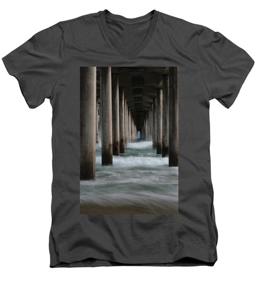 Men's V-Neck T-Shirt featuring the photograph Infinity by Edgars Erglis