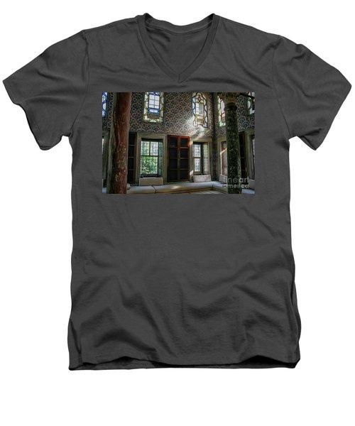Inside The Harem Of The Topkapi Palace Men's V-Neck T-Shirt
