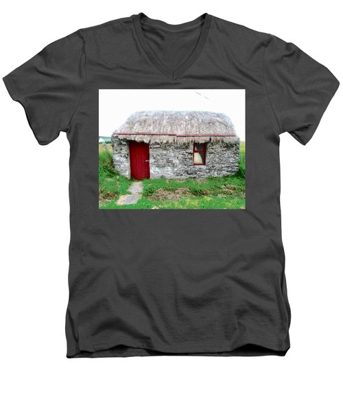 Irish Cottage Men's V-Neck T-Shirt