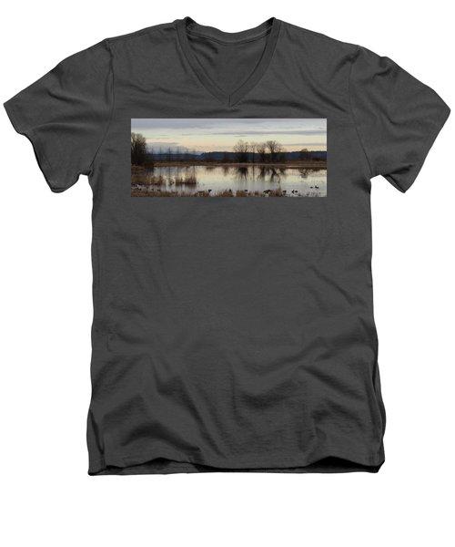 January Thaw 2 Men's V-Neck T-Shirt