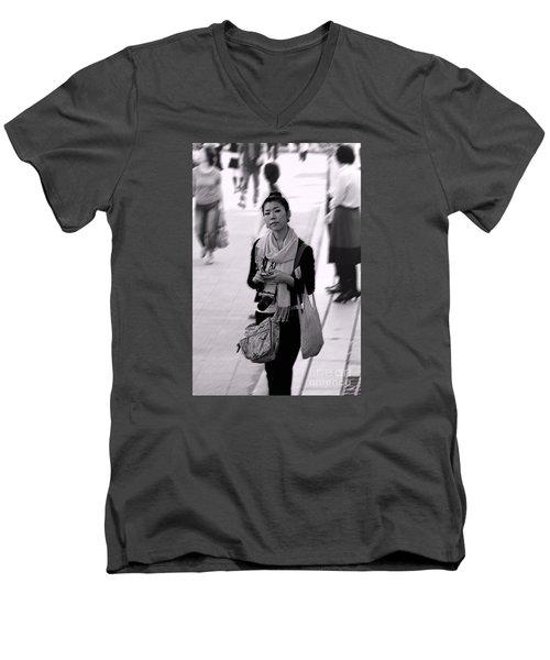 Jidai Matsuri Xv Men's V-Neck T-Shirt