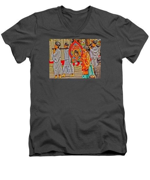 Jidai Matsuri Xxv Men's V-Neck T-Shirt