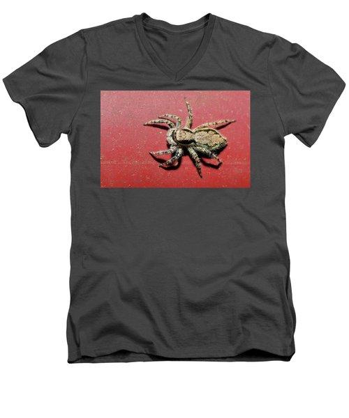 Jumping Spider Men's V-Neck T-Shirt