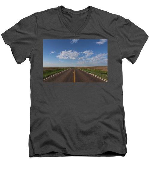 Kansas Road Men's V-Neck T-Shirt
