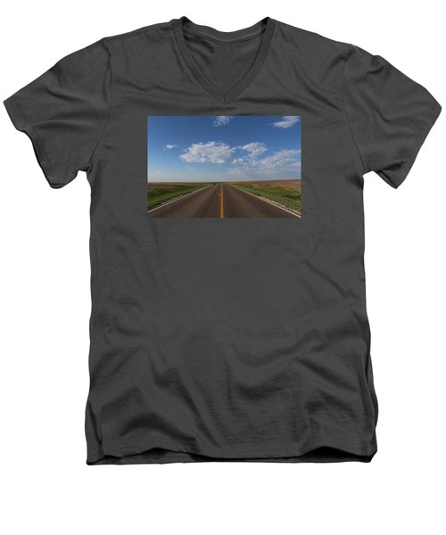 Kansas Road Men's V-Neck T-Shirt