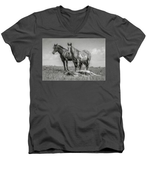 Keeping Watch Men's V-Neck T-Shirt
