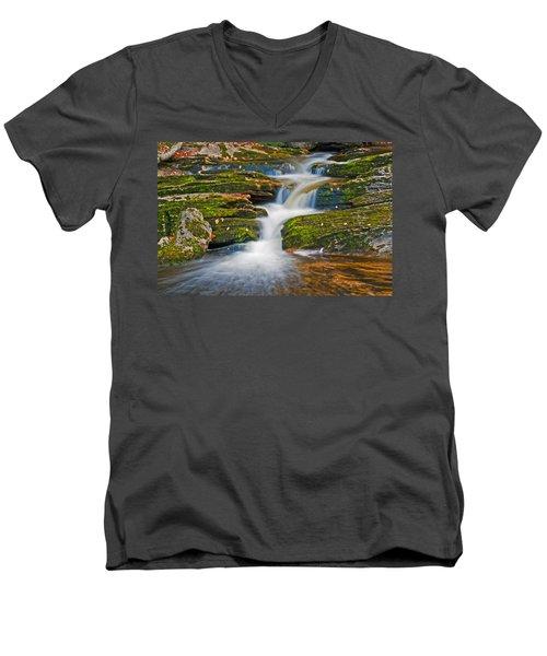 Kent Falls Men's V-Neck T-Shirt