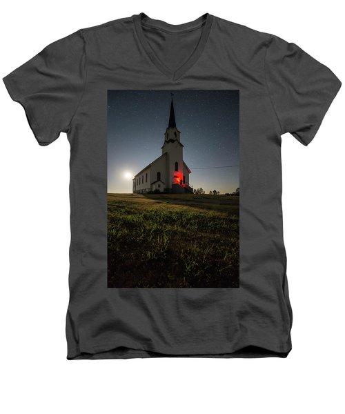 Knockin On Heaven's Door Men's V-Neck T-Shirt