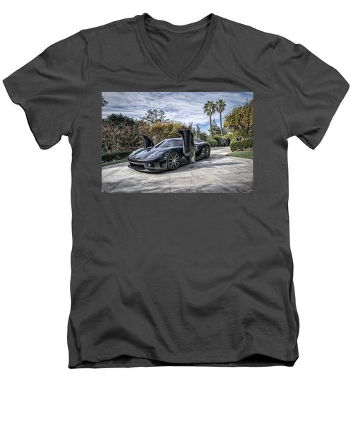 Koenigsegg Ccx Men's V-Neck T-Shirt