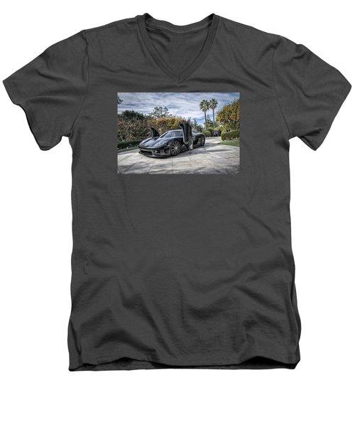 Koenigsegg Ccx Men's V-Neck T-Shirt