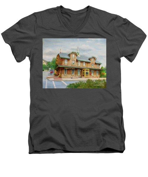 Lambertville Inn Men's V-Neck T-Shirt