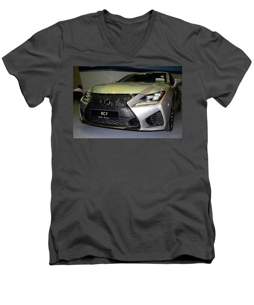 Lexus Rcf Men's V-Neck T-Shirt