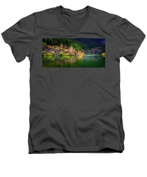 Men's V-Neck T-Shirt featuring the photograph Life Is But A Dream by John Poon