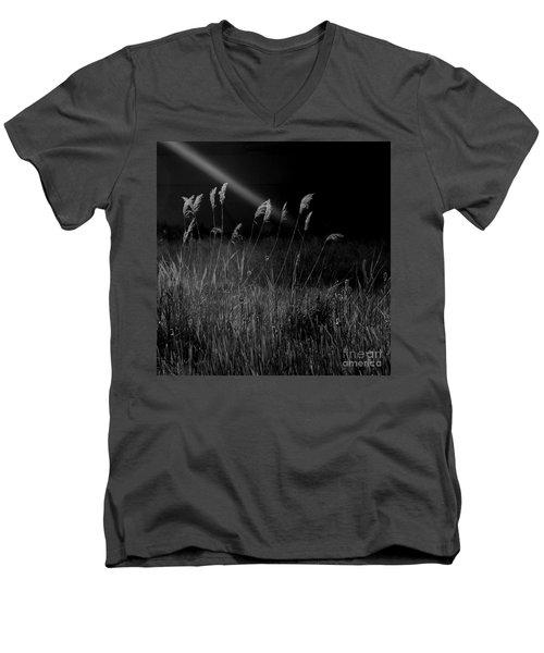 Light Men's V-Neck T-Shirt by A K Dayton