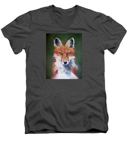 Lil' Rudy Men's V-Neck T-Shirt