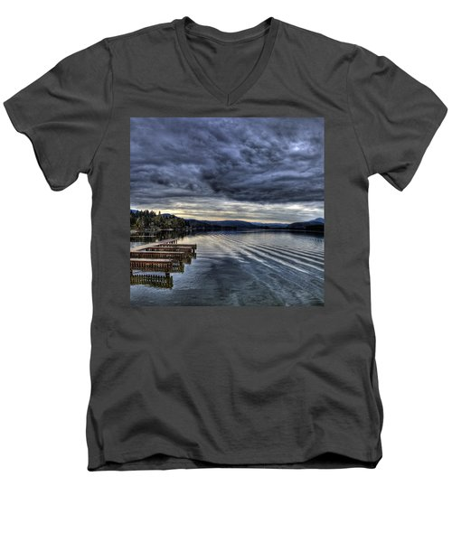 Looking West From 41 South Men's V-Neck T-Shirt