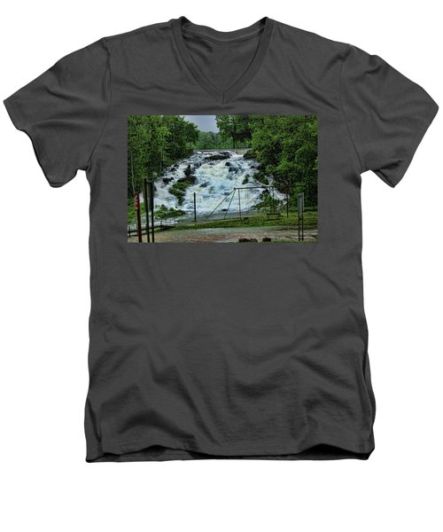 Lots Of Rain Men's V-Neck T-Shirt