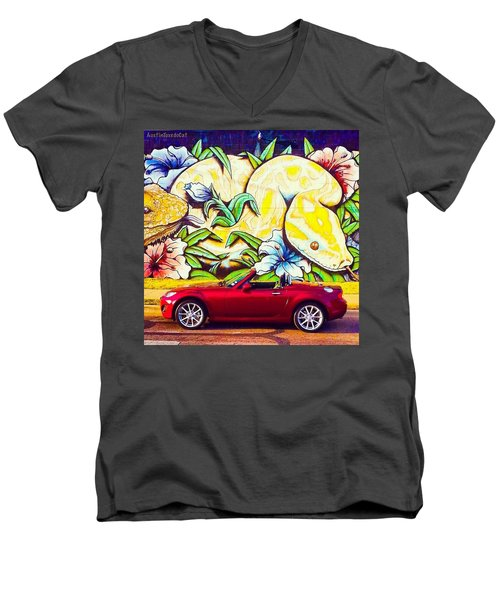 Love Him, But His Days With Our Crazy Men's V-Neck T-Shirt