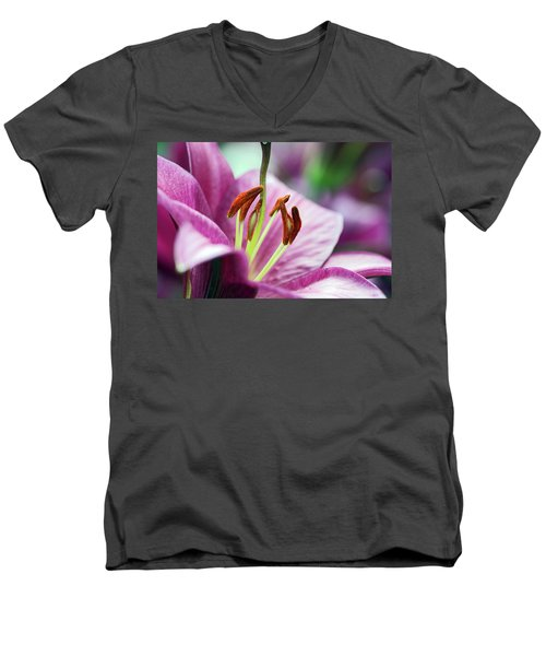 Lovely Lily Men's V-Neck T-Shirt