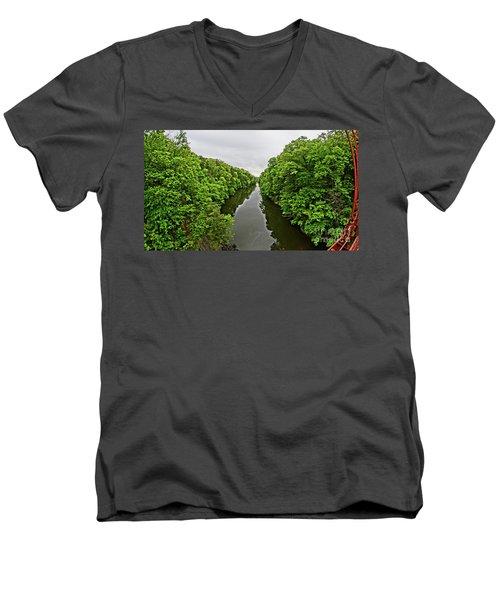 Lover's Leap Men's V-Neck T-Shirt