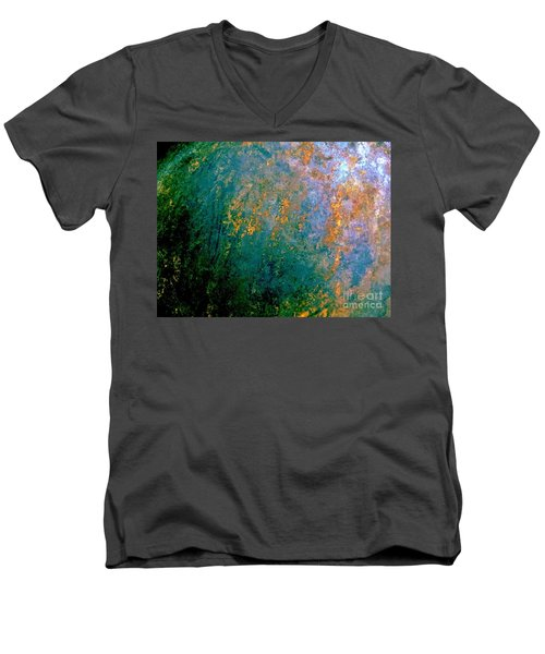 Lush Foliage Men's V-Neck T-Shirt by Tim Townsend