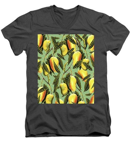Mango Season Men's V-Neck T-Shirt