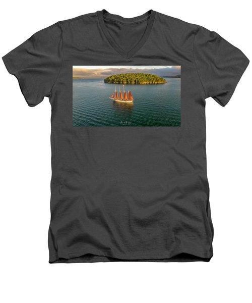 Margaret Todd  Men's V-Neck T-Shirt