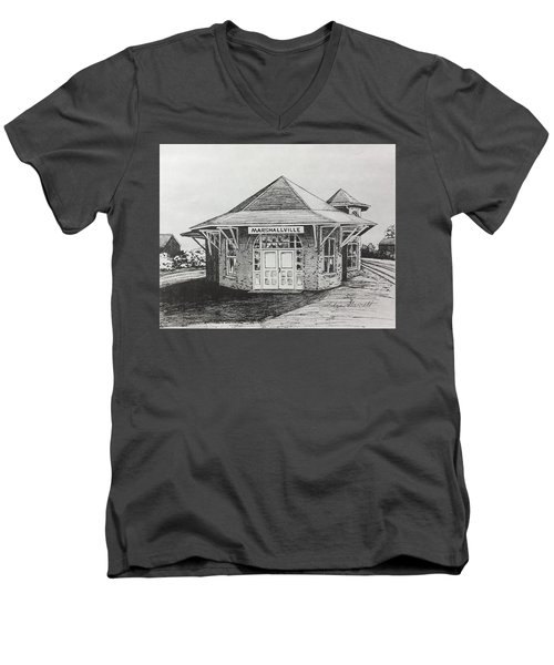 Marshallville Depot Men's V-Neck T-Shirt